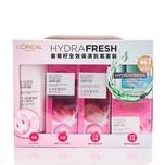 L'Oreal Paris Hydra Fresh 12345 (Foam+Spa Water+Milky Lotion+Aqua Essence+Aqua Balm) Pack Set