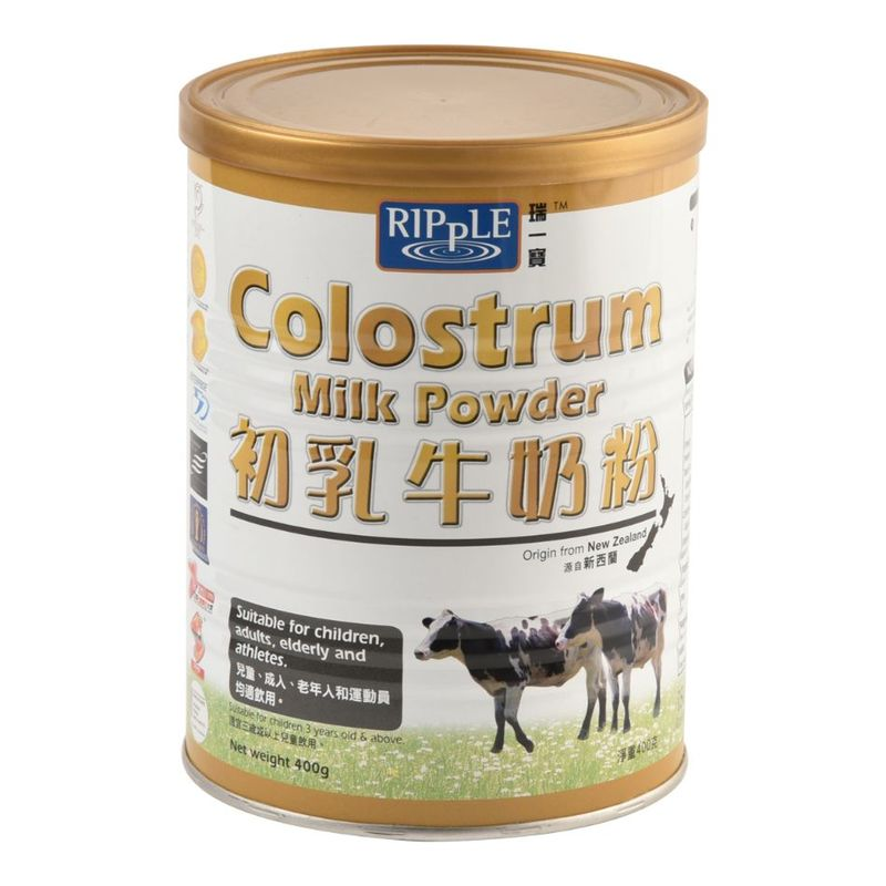 Ripple Colostrum Milk Powder Twin Pack, 2x400g