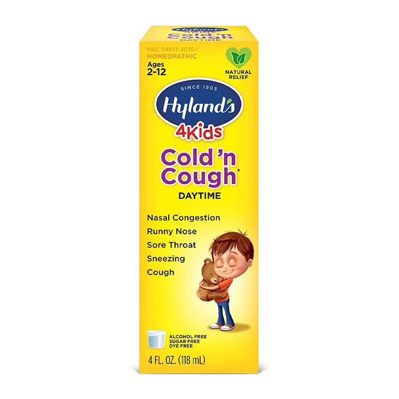 Hyland's 4Kids Cold 'n Cough Daytime (Ages 2-12) 118ml