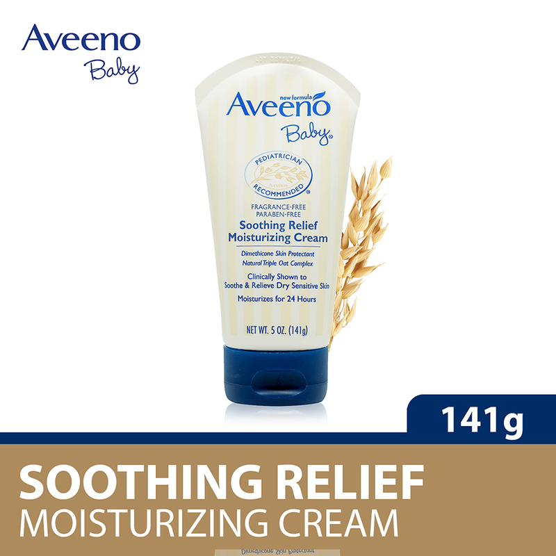 Aveeno Baby Soothing Relief Moisturizing Cream, 141 g