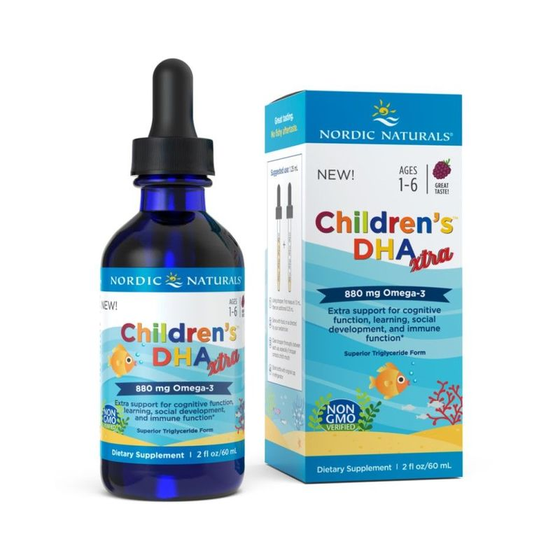 Nordic Naturals Children's DHA Xtra, 60ml