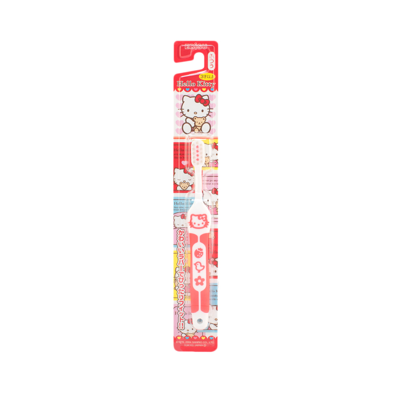 Ebisu Hello Kitty Toothbrush (3-6Y) 1pc