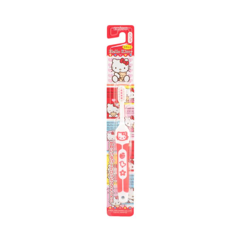 Ebisu Hello Kitty Toothbrush (3-6Y) 1pc