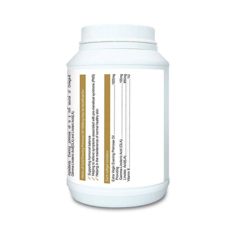 Herbs of Gold Evening Primrose Oil 400 Softgels+50 Softgels