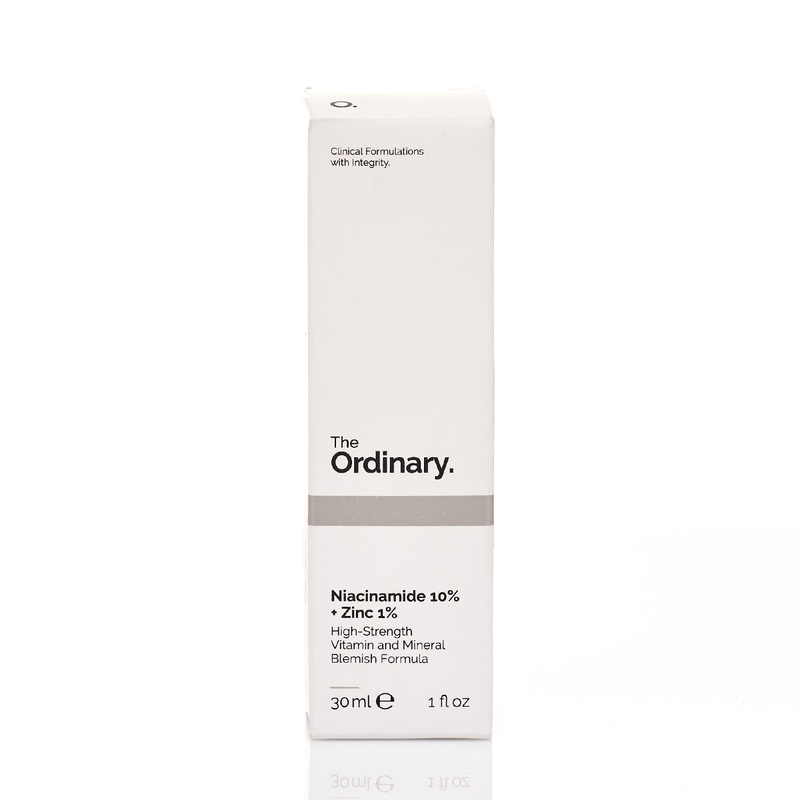 The Ordinary Niacinamide 10%+Zinc 1% High Strength Vitamin And Mineral Blemish Formula 30mL