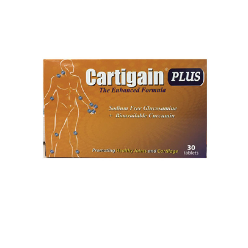 Cartigain Plus Glucosamine and Curcumin 30s