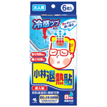 Kobayashi Netsu Cool Gel Sheet Adult 6pcs