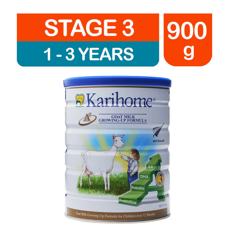 Karihome Goat Milk Growing Up Formula Stage 3, 900g