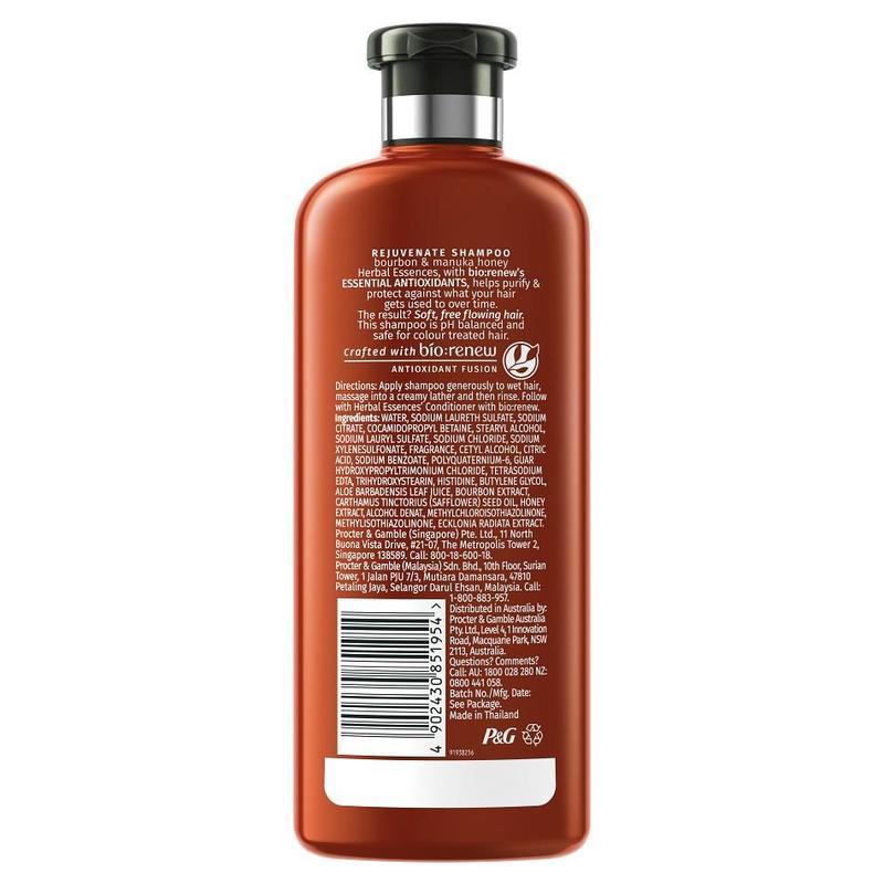 Herbal Essences REJUVENATE Bourbon and Manuka Honey Conditioner, 400ml