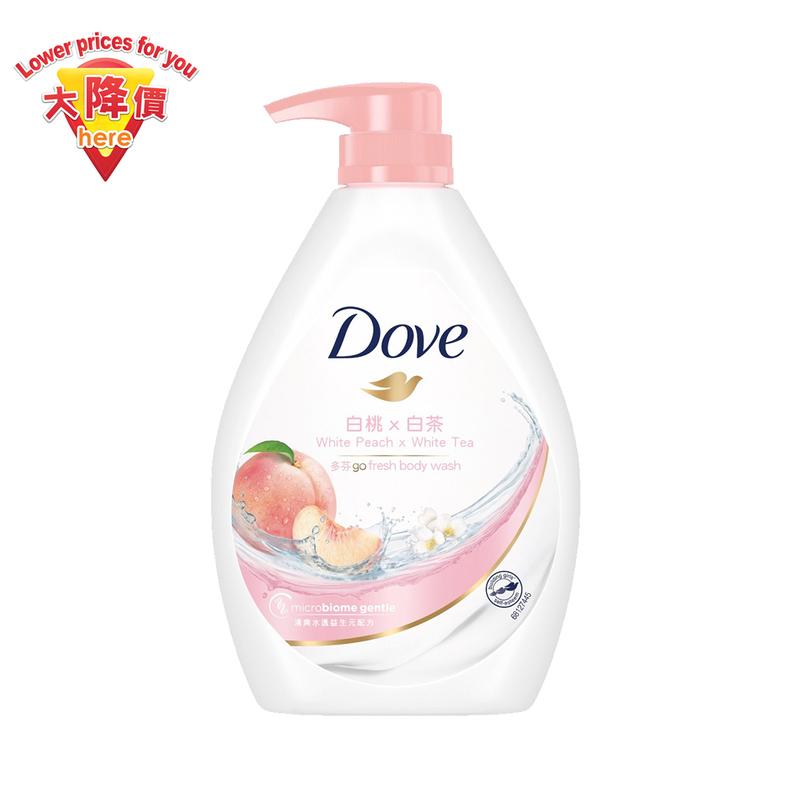 Dove Bodywash 750g (White Peach)