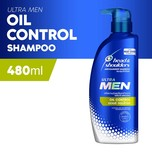 Head & Shoulders Ultramen Oil Control Shampoo, 480ml