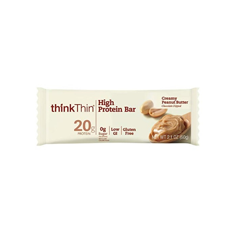 Think Thin High Protein Creamy Peanut Butter Bar, 60g
