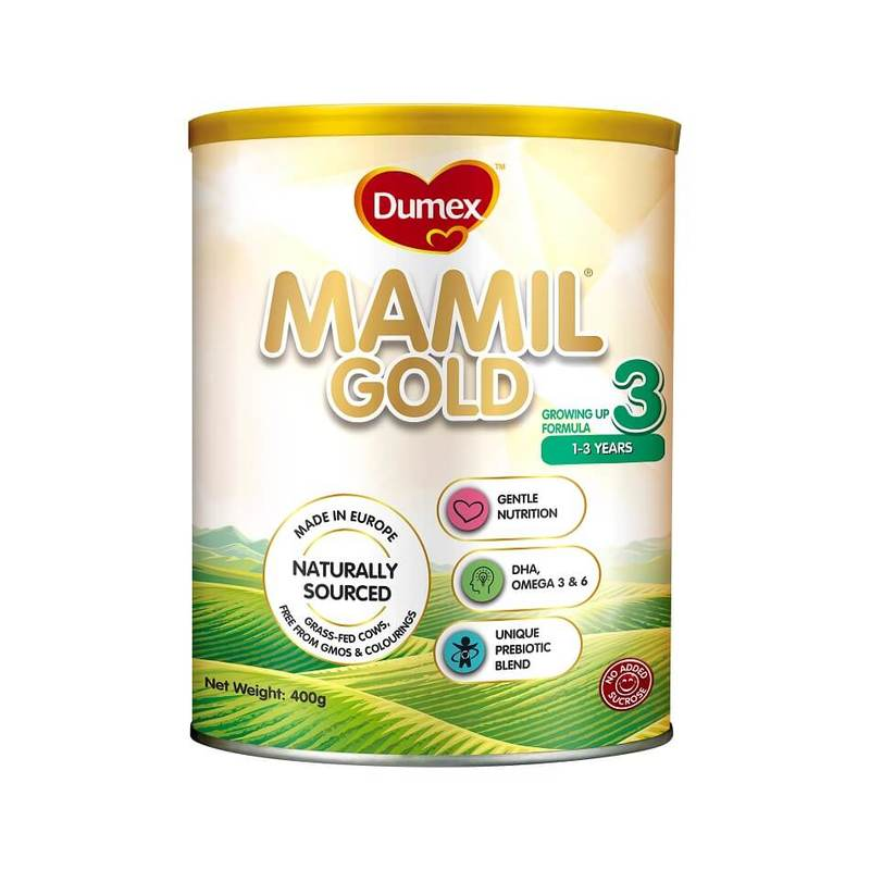 Dumex Mamil Gold Stage 3 Growing Up Kid Milk Formula (400g)