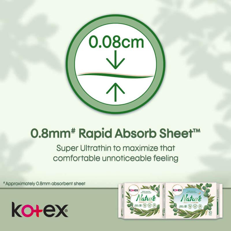 Kotex Super Ultrathin Nature 28cm