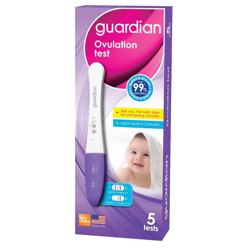 Guardian Ovulation Test Kit 5 Pieces