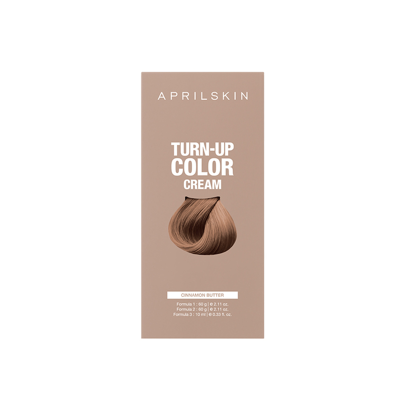 Aprilskin Turn Up Color Cream Cinnamon Butter, 206g