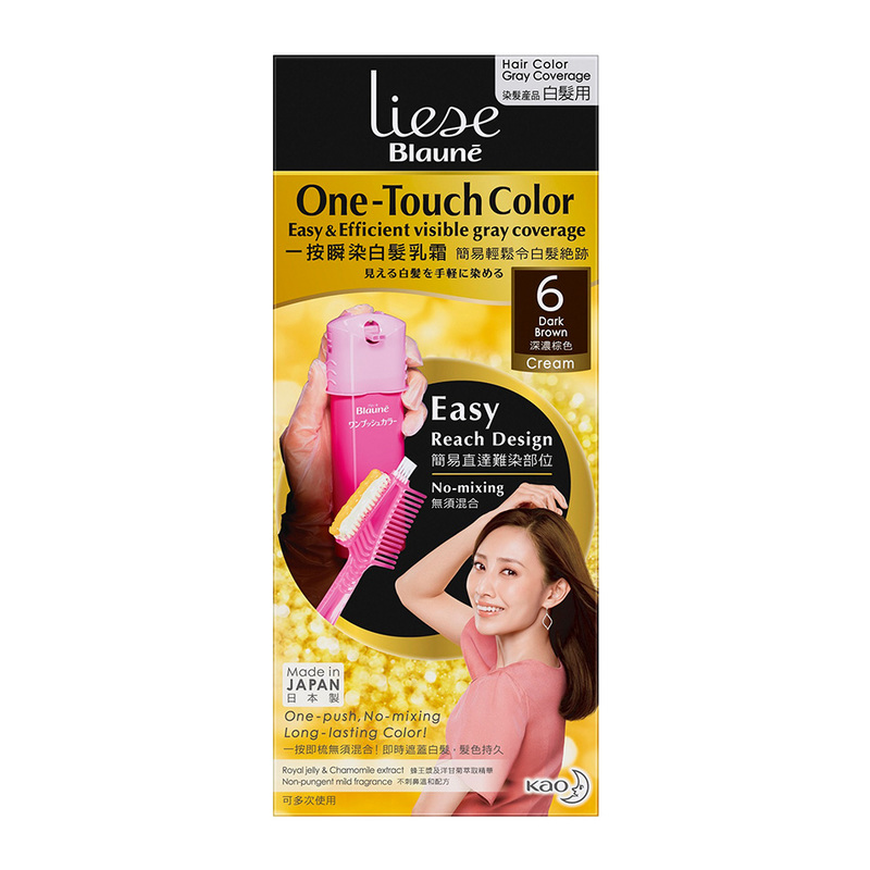 Liese Blaune One Touch Color Dark Brown