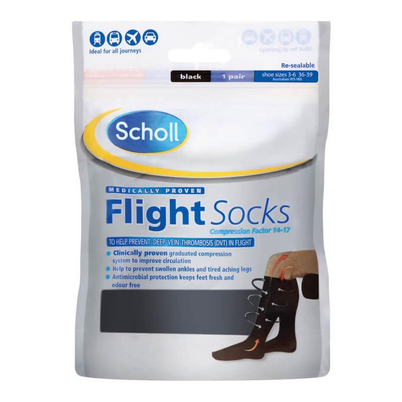 Scholl Flight Socks S3-6