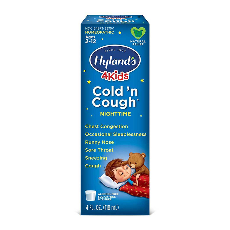 Hyland's 4Kids Cold 'n Cough Nighttime (Ages 2-12) 118ml