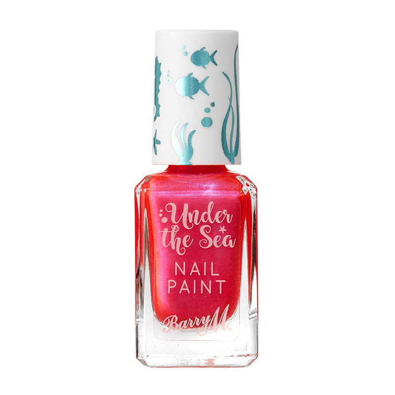 Barry M Under the Sea Nail Paint Coral Reef, 10ml