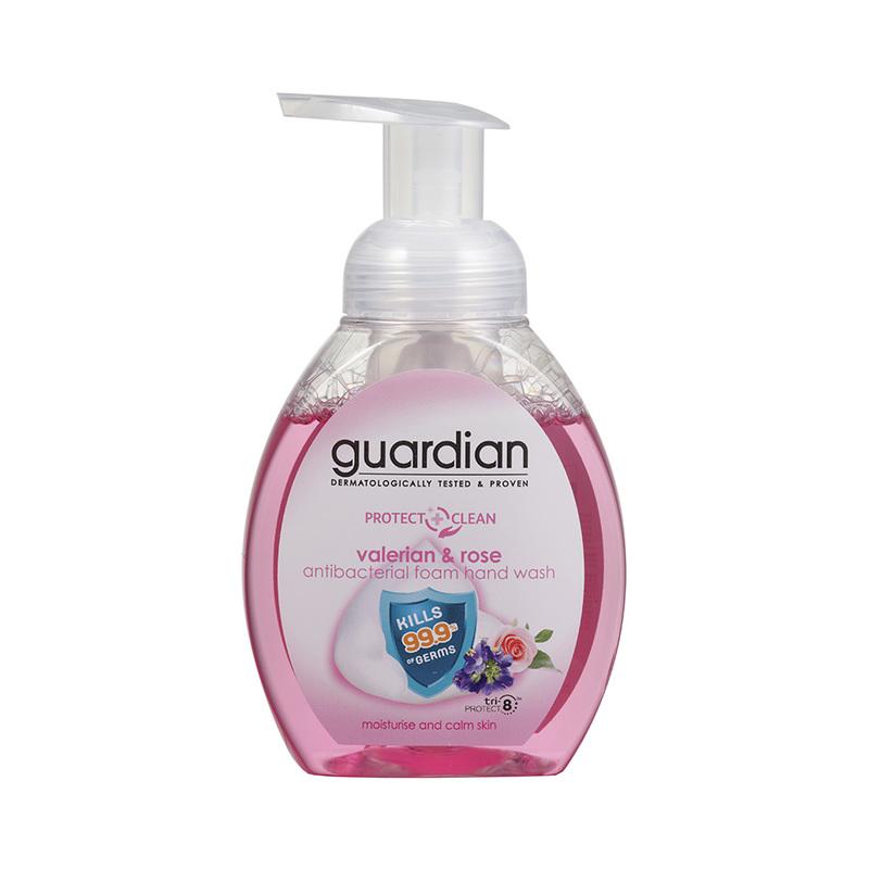 Guardian Antibacterial Foam Handwash Valerian & Rose, 250ml