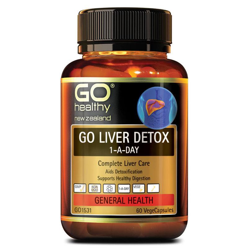 GO Healthy Liver Detox, 60 capsules