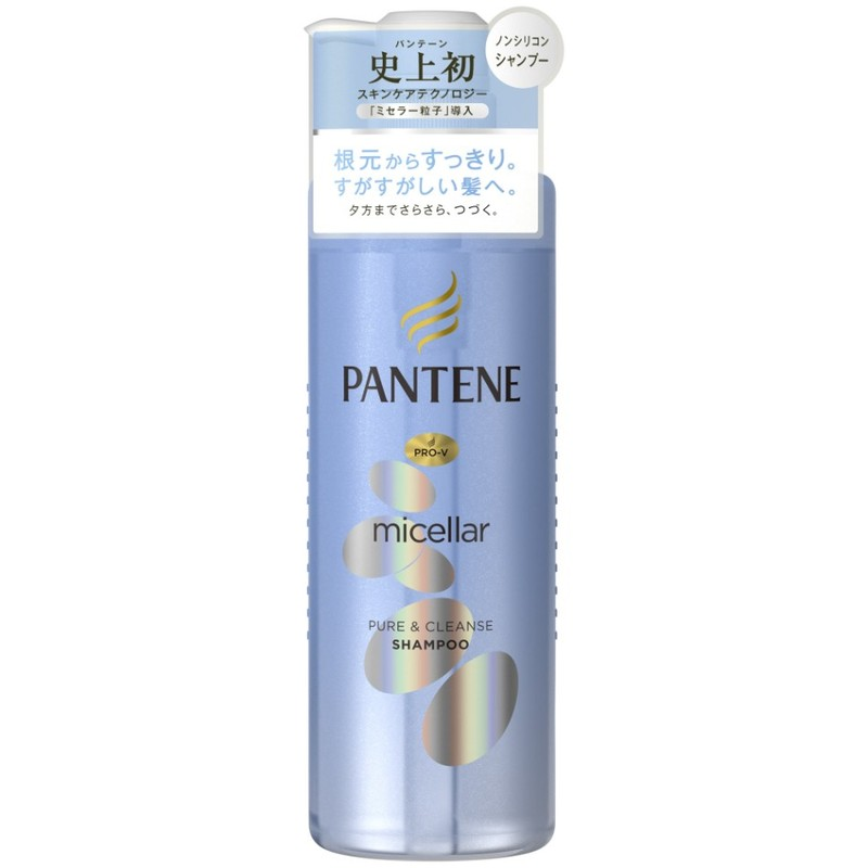 Pantene Micellar Water Pure & Cleanse Shampoo, 500ml