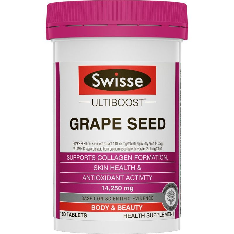SWISSE ultiboost grapeseed 180 tablets