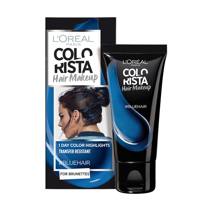 L'Oreal Colorista Hair Makeup Blue, 30ml