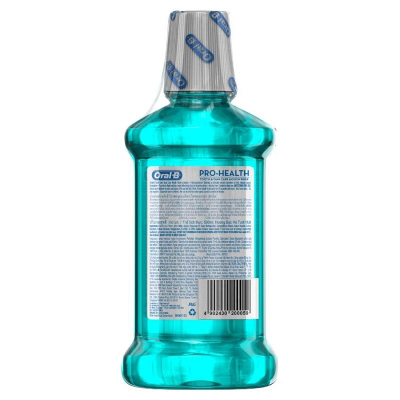 Oral-B Pro-Health Tooth & Gum Care Mouth Rinse Freshmint Flavour Twin Pack, 2x500ml