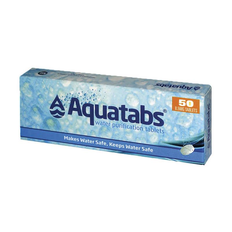 Aquatab Water Purification Tablet, 50 tablets