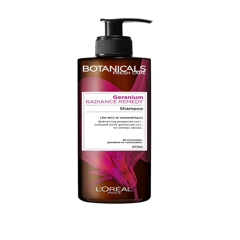 L'Oreal Botanicals Geranium Radiance Remedy Shampoo, 400ml