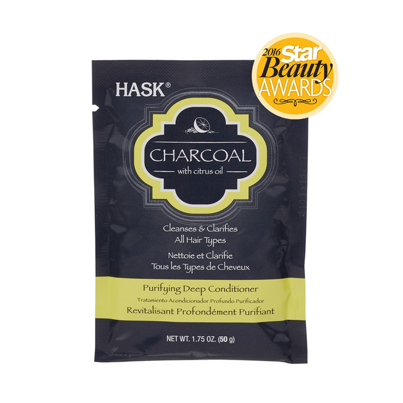 Hask Charcoal with Citrus Oil Purifying Deep Conditioner, 50g