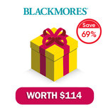 Blackmores All Round Wellness Brand Box worth $114