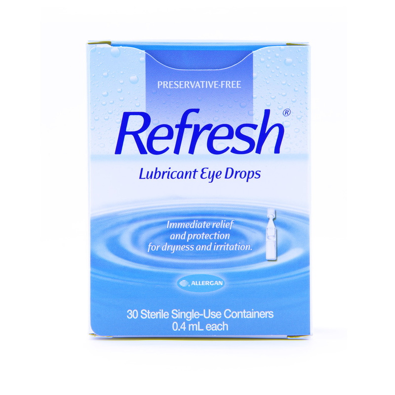 Allergan Refresh Lubricant Eye Drops, 30pcs