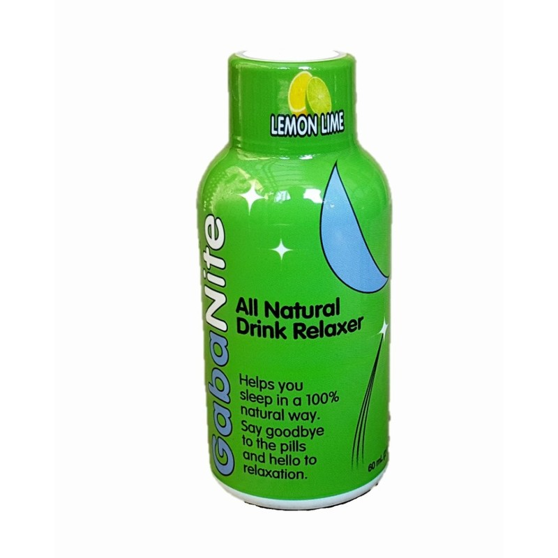 GabaNite All-Natural Drink Relaxer Lemon Lime, 60ml