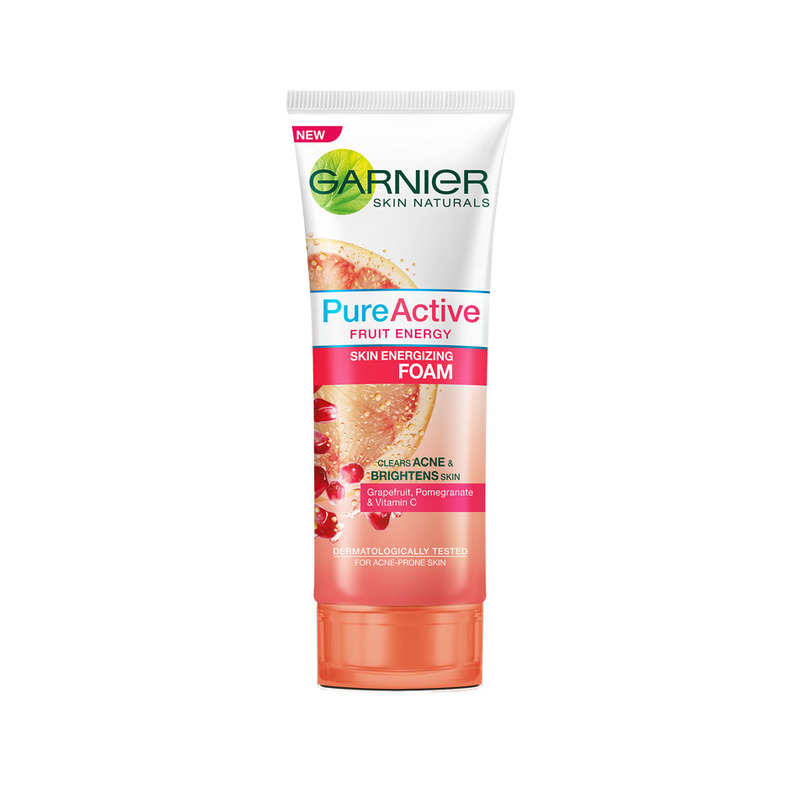 Garnier Pure Active Fruit Energy Foam, 50ml