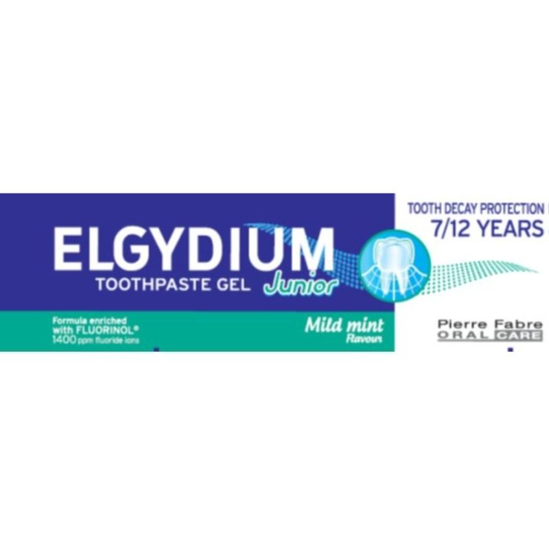 Elgydium Junior Mild Mint Toothpaste 50ml