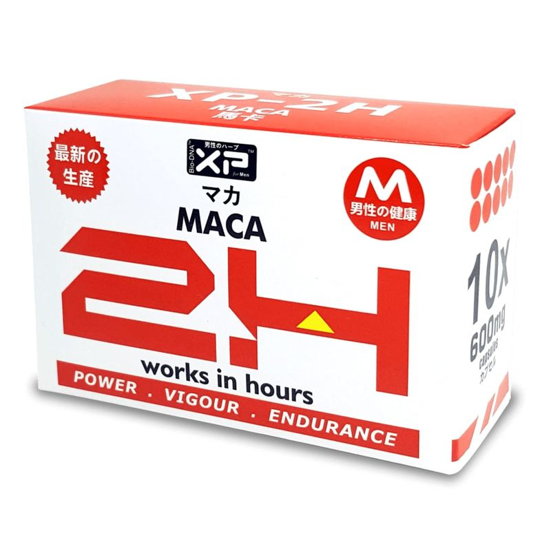 XP 2H Maca Herbal Supplement, 10 capsules