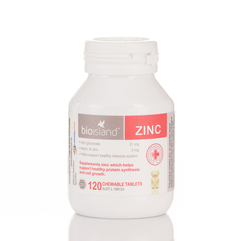 Bioisland Zinc Tablet 120pcs