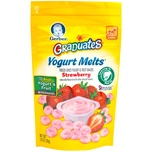 Gerber Graduates Yogurt Melts Strawberry, 28g