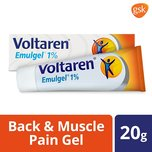Voltaren Muscle Back and Joint Pain Relief EmulGel, 20g