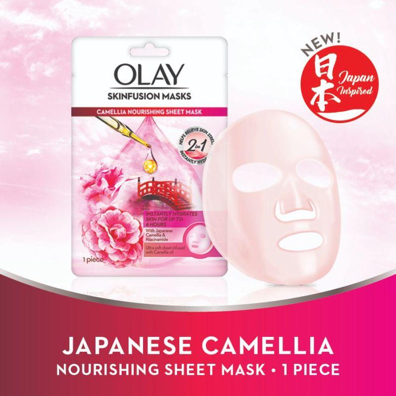 Olay Camellia Nourishing Sheet Mask