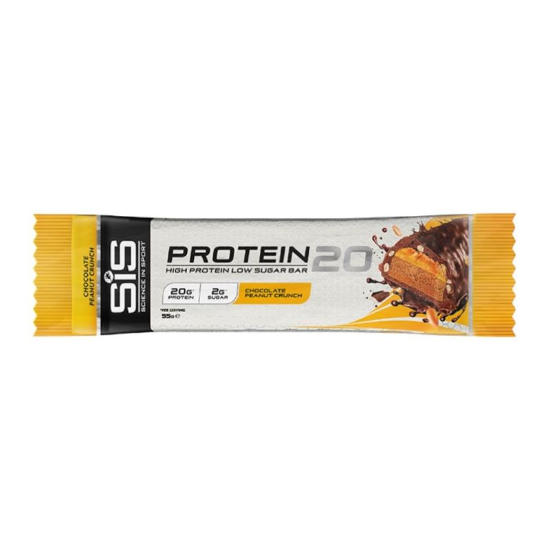 Science In Sport  Protein 20 Chocolate Peanut Crunch Bar 55g