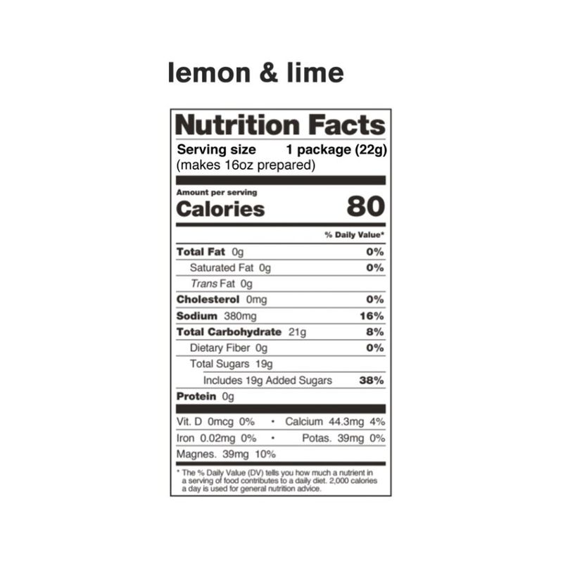 Skratch Labs  Skratch Sport Hydration Drink Mix Lemon & Lime 22g