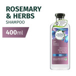 Herbal Essences MOISTURE Rosemary & Herbs Shampoo, 400ml