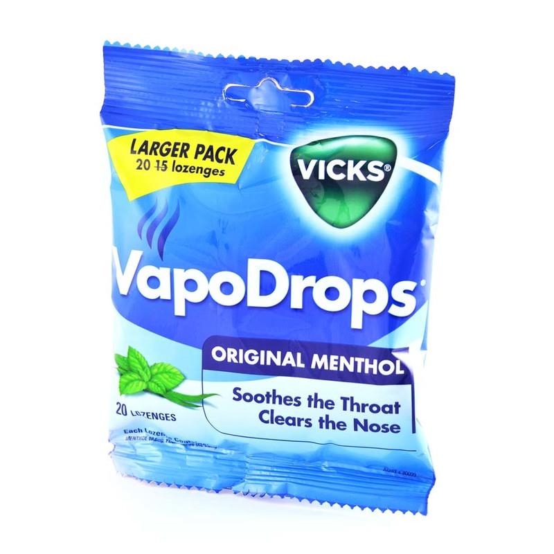 Vicks Vapodrops Original, 70g