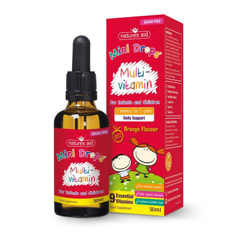 Natures Aid Multi-Vitamin Drops For Infants & Children