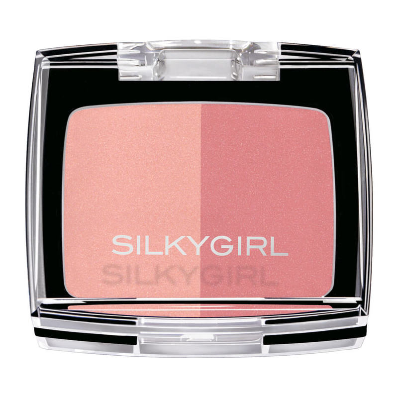 SilkyGirl  Shimmer Duo Blusher - 04 Sunny Glow 4g