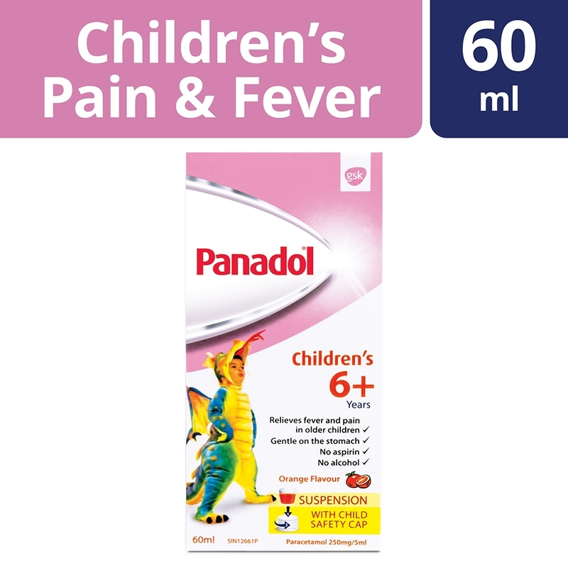 Panadol Children's Suspension 6+ Years, 60ml